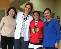 Dr. Wang and team members